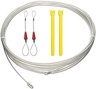 comprar comparacion RUNCCI-YUN Kit Guia Pasacables, Herramienta de Ayuda para instalación de Cables 20 m