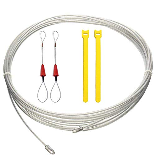 RUNCCI-YUN Guia Pasacables, Kit de Enhebrado de Cables, guia para pasar cables,...