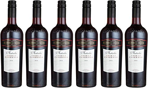 Badgers Creek Shiraz Cabernet Rouge Australien (6 x 0.75 l)
