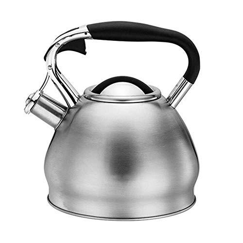 Bouilloire DBL XINYALAMP gaz avec sifflet, Cuisinière en Acier Inoxydable Top, Style rétro, for Tous Les Types de Cuisson/cuisinière y Compris l'induction
