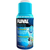 Makes Tap Water Safe for fish Neutralizes chlorine, chloramines and heavy metals Protects the sensitive mucous membrane of the fish Patented stress reducing formula For Fresh and Saltwater Use