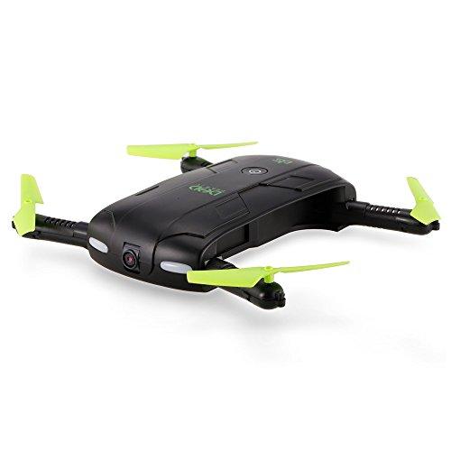 GoolRC DHD D5 WiFi FPV 480P cámara Plegable Selfie Drone 6-Axis Gyro Altitud Mantenga Ruta de Vuelo RC Quadcopter