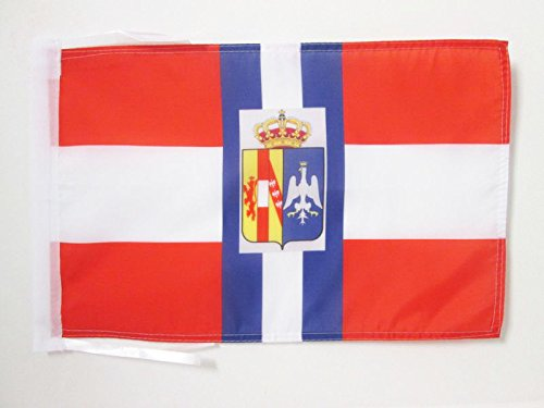 AZ FLAG Drapeau Duché de Modène de Guerre 1452-1859 45x30cm - PAVILLON Italien Ancien - Italie 30 x 45 cm Haute qualité