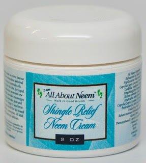 "Neem Oil""Shingle Relief"" Skin Cream with Hemp 2 oz BEST Nerve Pain Relief!"