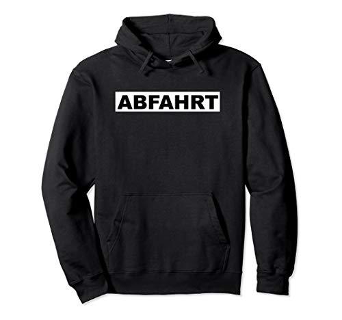 Abfahrt Ossi Geschenk Für Dorfdisko Fans Aus Ostdeutschland Pullover Hoodie