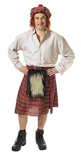 Bristol Novelty AC969 Schotse rok en hoed