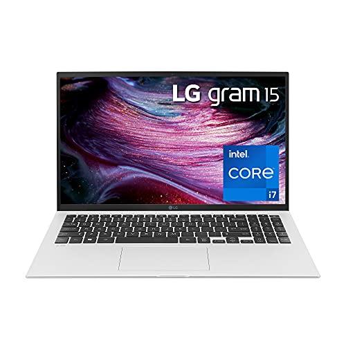 "LG LED Laptop 16"" Full HD IPS (1920x1080) Display, Intel 11th Gen i7, Iris Xe Graphics, 32GB Ram, 1TB SSD, 19.5 Hr Battery Life, Light Weight - 2021, Alexa Built-in"