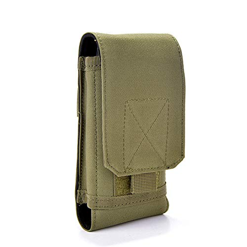 Tactical MOLLE Smartphone Holster, Universal Army Mobile Phone Belt Pouch EDC Security Pack Carry Accessory Kit Blowout Pouch Belt Loops Waist Bag Case For iPhone 6/6s 6plus Samsung Galaxy S7