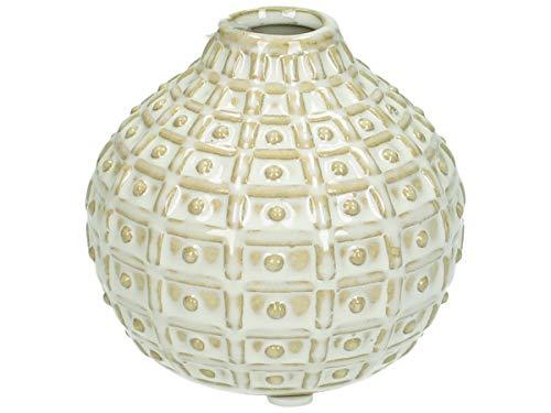 J. Kersten BV LEV-7827 Jarrón, cerámica, Blanco