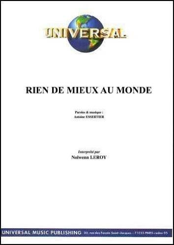 RIEN DE MIEUX AU MONDE