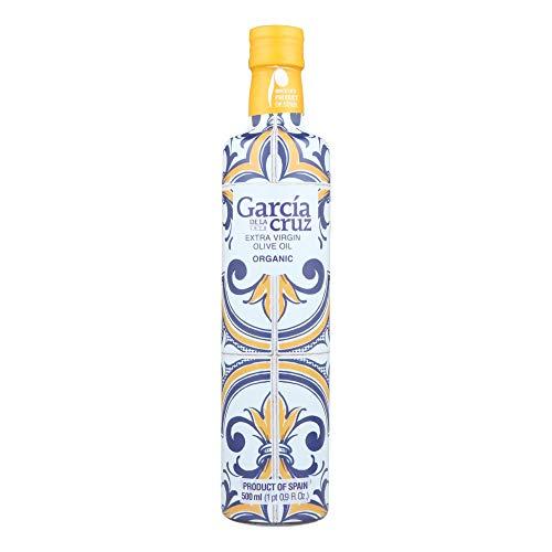 García de la Cruz - Aceite de Oliva Virgen Extra Ecológico - Premium Master Miller - Botella de 500ml