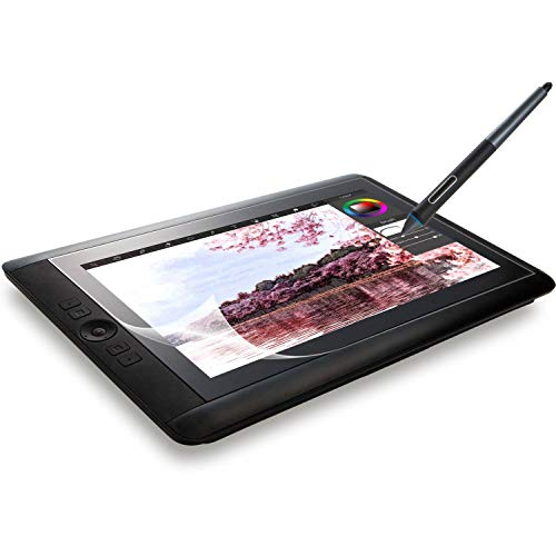 ELECOM-Japan Brand- Paper-Feel Screen Protector Compatible with Wacom Cintiq 13HD / Smooth Type/TB-WC13FLAPLL