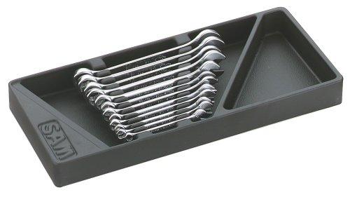 SAM Outillage 50-J12PM Jeu de 12 clés mixtes de 7 à 19 mm en module ABS