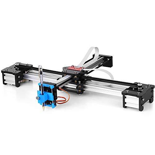 KKmoon Desktop DIY Montiert XY Plotter Stift Zeichnung Roboter Zeichnung Maschine Malerei Handschrift Roboter Kit 100-240 V