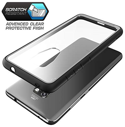 SupCase Huawei Mate 20 Hülle Premium Handyhülle Hybrid Case Transparent Schutzhülle Backcover [Unicorn Beetle Style] für Huawei Mate 20 / HMA-L29 (6.53 Zoll) 2018 (Schwarz)
