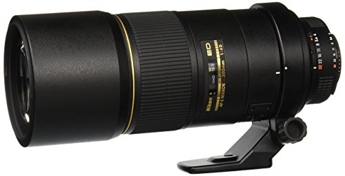 Nikon AF-S FX NIKKOR F/4D IF-ED 300mm Fixed Zoom Lens with Auto Focus for Nikon DSLR Cameras