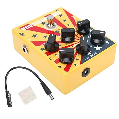 Pedal de sonido americano, guitarra Pedal de sonido americano Carcasa de aleación de aluminio para club de música para amantes de la música para la escuela de música para guitarristas