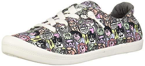 Skechers Women's Beach Bingo-Classy Cat Sneaker