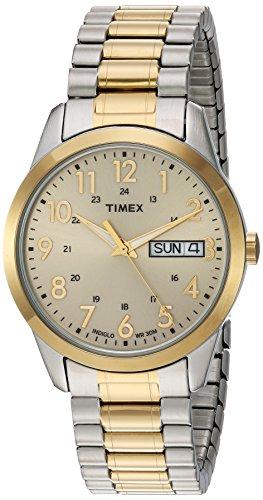 Timex Orologio Analogico Quarzo Uomo con Cinturino in Acciaio Inox TW2P674009J