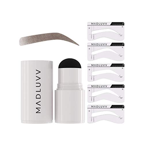 MADLUVV 1-Step Brow Stamp + Shaping Kit (Brunette)