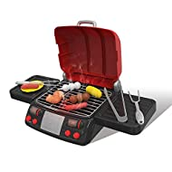 Velidy Barbecue Grill Toy Set,BQ Grill Cooking Playset Toys Kids Kitchen Set for Children Indoor & O...