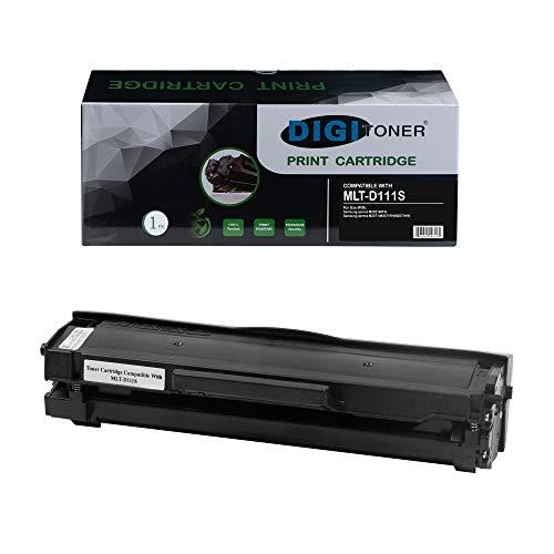 TonerPlusUSA Compatible Toner Cartridges Replacement for Samsung 111S 111L MLT111S MLT-D111S MLTD111S D111S High Yield Toner Cartridge Replacement for Samsung Laser Printer – Black [1 Pack]
