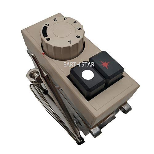 LJ MENSI Modelo 710 válvula de control del termostato de la freidora de gas del minisit 120-200 grados lpg válvulas termostáticas