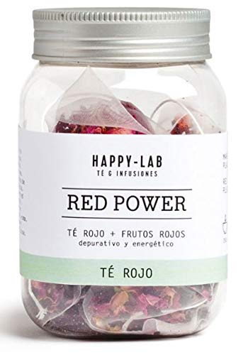 Happy-Lab Red Power Te Infusion - 14 piramides