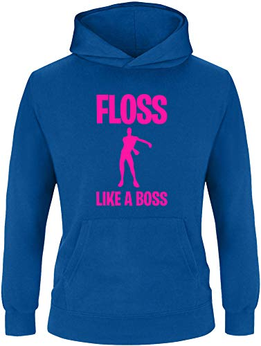 EZYshirt EZYshirt® Floss Like a Boss Pullover Kinder   Mädchen Kapuzenpullover   Hoodie