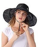 Sombrero de Sol Extraíble con Borde Grande para Gorra Sombrero de Cubo Solar Reversible...