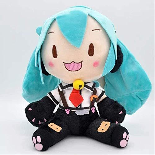 XMHL Figura de Hatsune Miku Juguetes de Peluche Lindo Gato Hatsune Miku Figura de Peluche de Juguete 28 cm muñecos de Peluche muñecos de Peluche Suaves Juguetes para niños