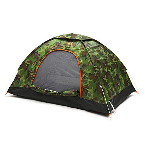CBLD Camping Tent 1-2 Person Waterproof Outdoor Sport Fishing Anti UV Tourist Tent Quick Picnic Beach Hunting Water-Resistant Ventilated and Durable