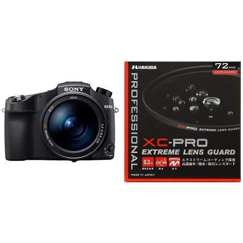 ソニー SONY デジタルカメラ Cyber-shot DSC-RX10M4 & HAKUBA 72mm レンズフィルター XC-PRO 高透過率 撥水防汚 薄枠 日本製 レンズ保護用 CF-XCPRLG72