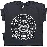 S - Vintage Record Store T Shirt Seattle Tee Cool Vinyl Album Player 70s 80s 90s DJ Rock Band Men Women Teen Black