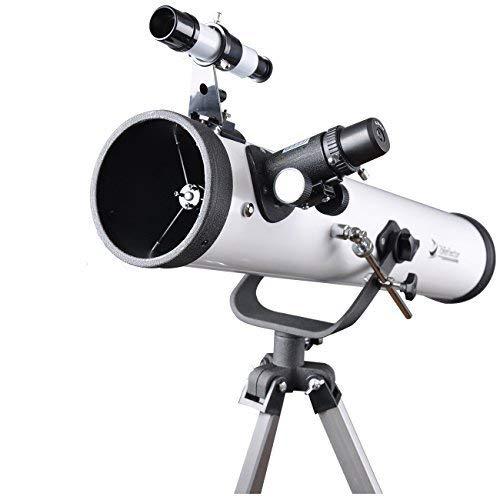 Telescopio AZ 76 mm telescopio observación luna