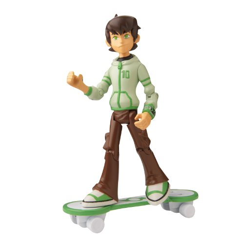 Ben 10 Omniverse 4 Inch Action Figure Ben (16 Years Old with Skateboard)