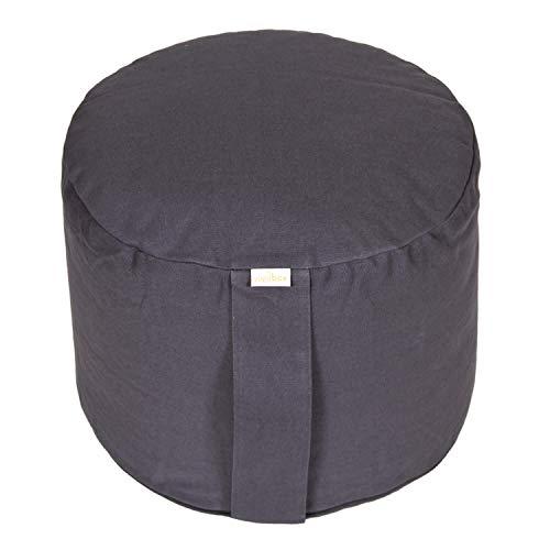 Yogabox Meditationskissen Rondo Big Basic, grau