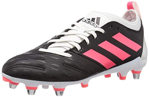 adidas Malice Elite (SG), Scarpe da Rugby Uomo, NEGBÁS/ROSSEN/BALCRI, 42 EU