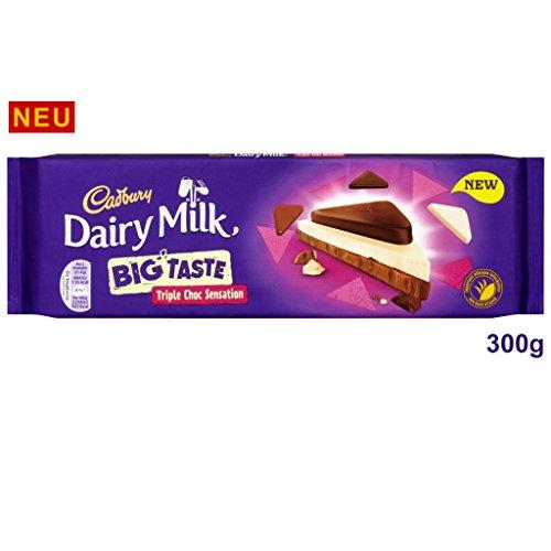 Cadbury Dairy Milk Big Taste Triple Chocolate 300 g
