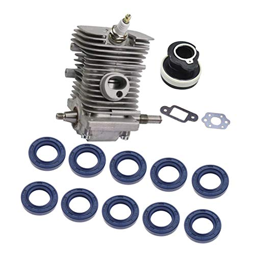 PETSOLA Juego De Kit del Cigüeñal del Cilindro del Motor para El Sello De Aceite Stihl 018 W / 20pcs
