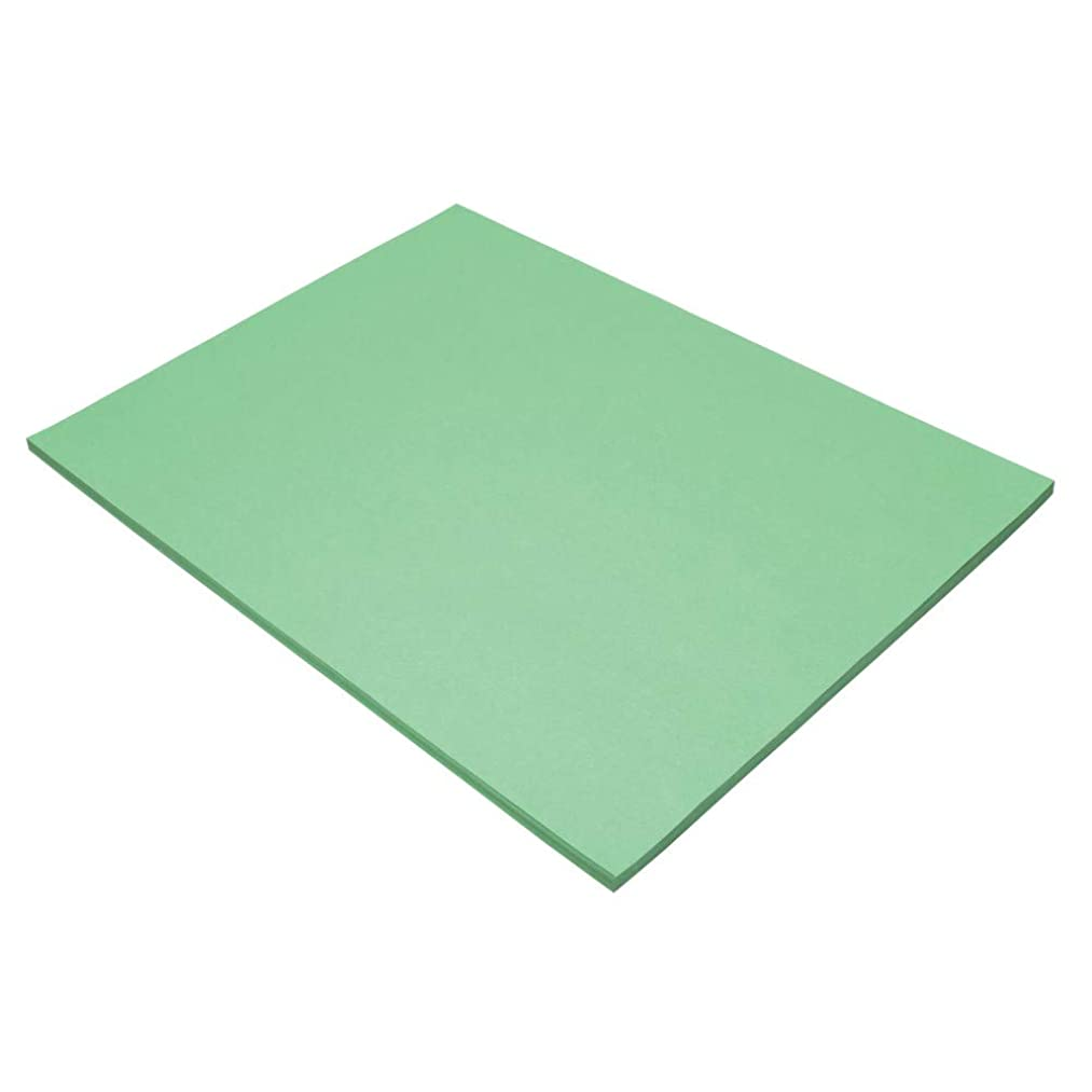 Tru-Ray Sulphite Construction Paper, 18 x 24 Inches, Light Green, 50 Sheets