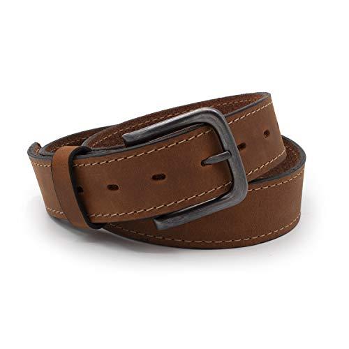 The Outrider Belt   Brown Full Grain Leather Belt...