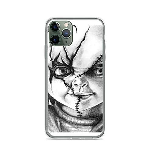 Compatible con iPhone Samsung Xiaomi Redmi Note 10 Pro/Note 9/8/9A Funda Hi Im Chucky Wanna Play Cajas del Teléfono Cover
