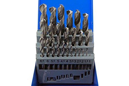 US Pro Bergen 25 Piece HSS Drill Bit Set 1mm - 13mm in Metal Case