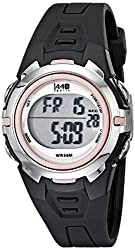 Timex Women's T5K683 1440 Digital Watch with Resin Strap