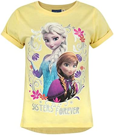 Official Frozen Sisters Forever Girl's T-Shirt