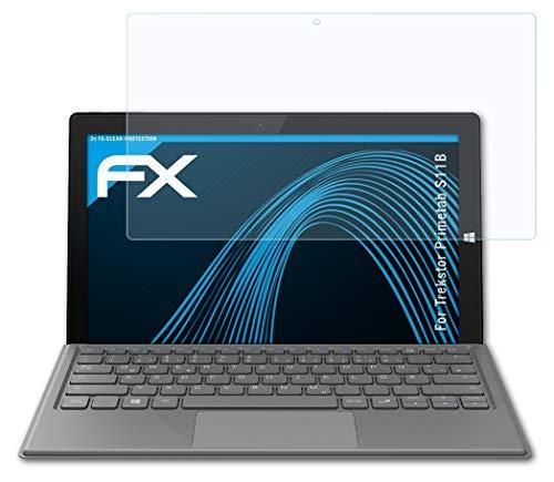 atFolix Schutzfolie kompatibel mit Trekstor Primetab S11B Folie, ultraklare FX Bildschirmschutzfolie (2X)