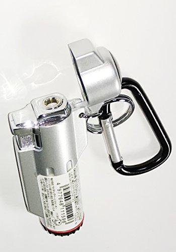FIELDTURBOフィールドターボ3ターボライターカラビナ付方位磁石付注入式(シルバー)