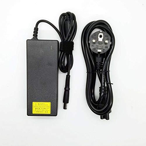 Adaptador Cargador Nuevo Compatible para portátiles DELL Latitude - Vostro Series de la Lista 19.5v 4.62a o Inferior con Punta Grande de 7,4mm x 5,0mm (Pin Central)