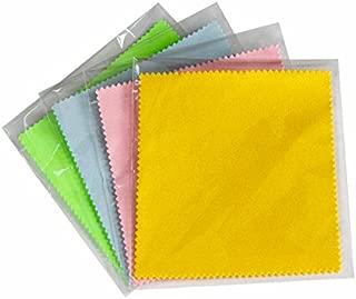 FTVOGUE 100Pcs Bag Panno di spolverata in Microfibra Panno Senza Polvere Panno Pulito da 6 Pollici Panno in Microfibra Antistatico